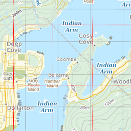 Canada Base Map Canada Transportation Base Map WMS | TrueNorth Support
