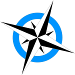 compass_rose light blue